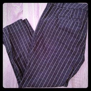 Banana Republic Sloan Skinny Plaid Dress Pants